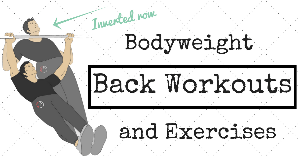 bodyweight back exercises (no equipment)