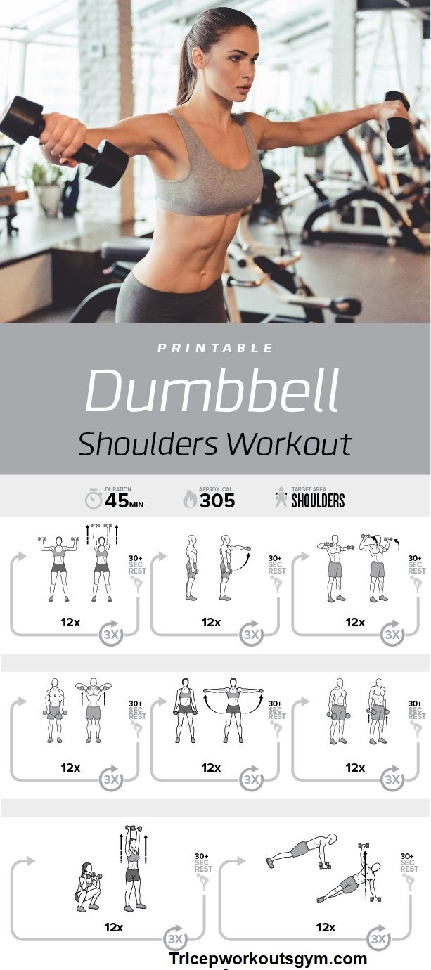 Dumbbell Shoulder workout